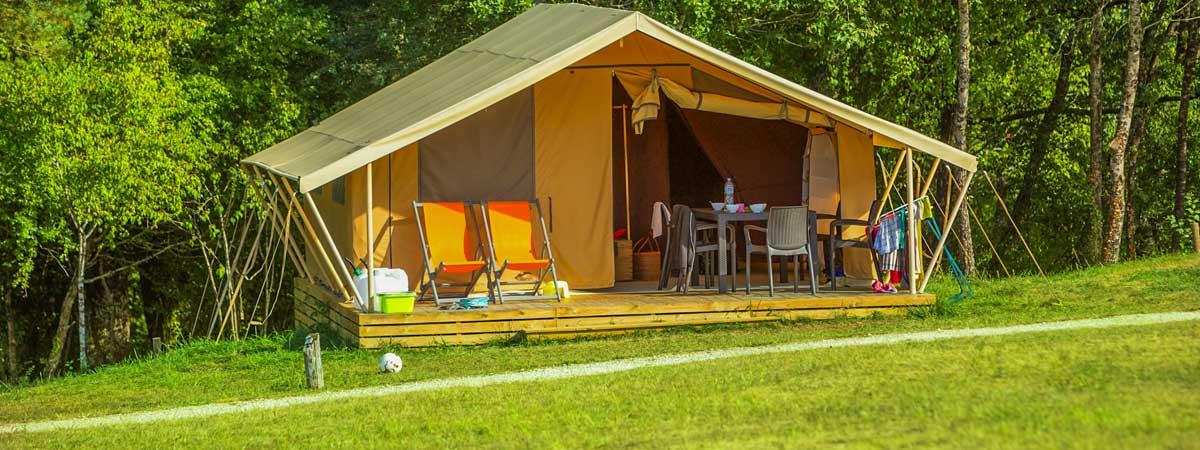 Location tente cottage Dordogne
