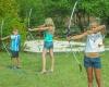 camping avec tir à l'arc en dordogne