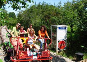 vélorail Thiviers Dordogne