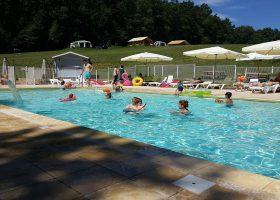 camping avec piscine chauffée dordogne