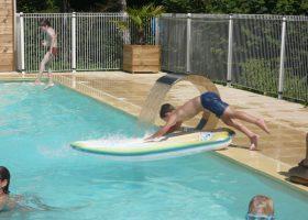 camping avec piscine chauffée perigord
