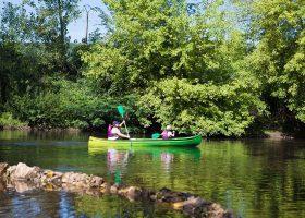 camping canoe dordogne