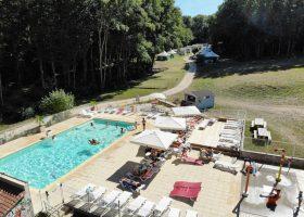 camping 3 etoiles piscine chauffée parc naturel